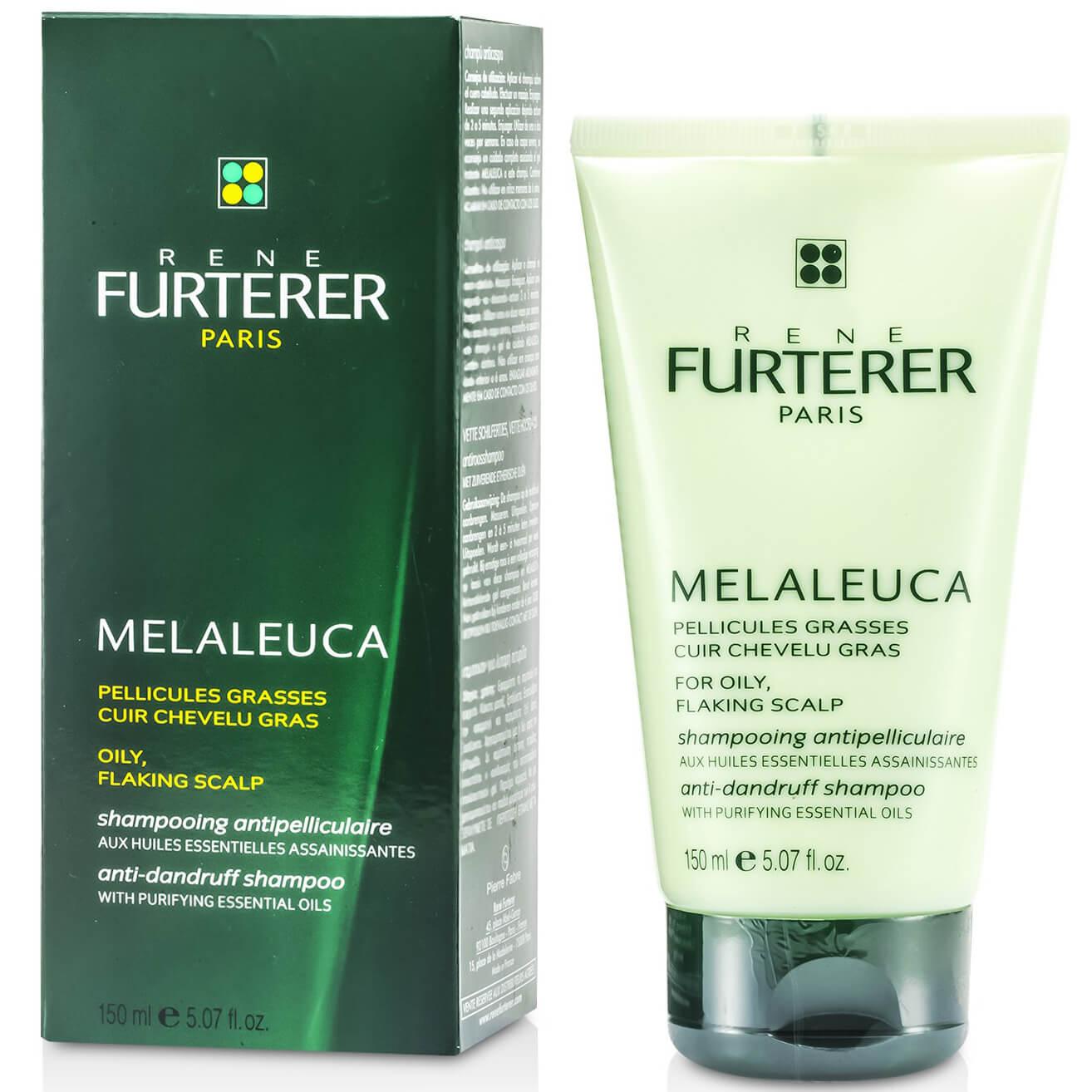 Rene Furterer Melaleuca Shampoo Pellic.Grasses Σαμπουάν Κατά της Λιπαρής Πιτυρίδας 150ml