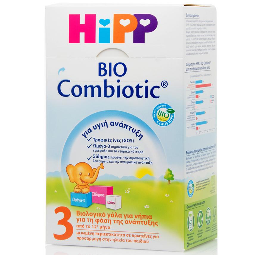 ΗiPP 3 Bio Combiotic Από Τον 12ο Μήνα 600gr