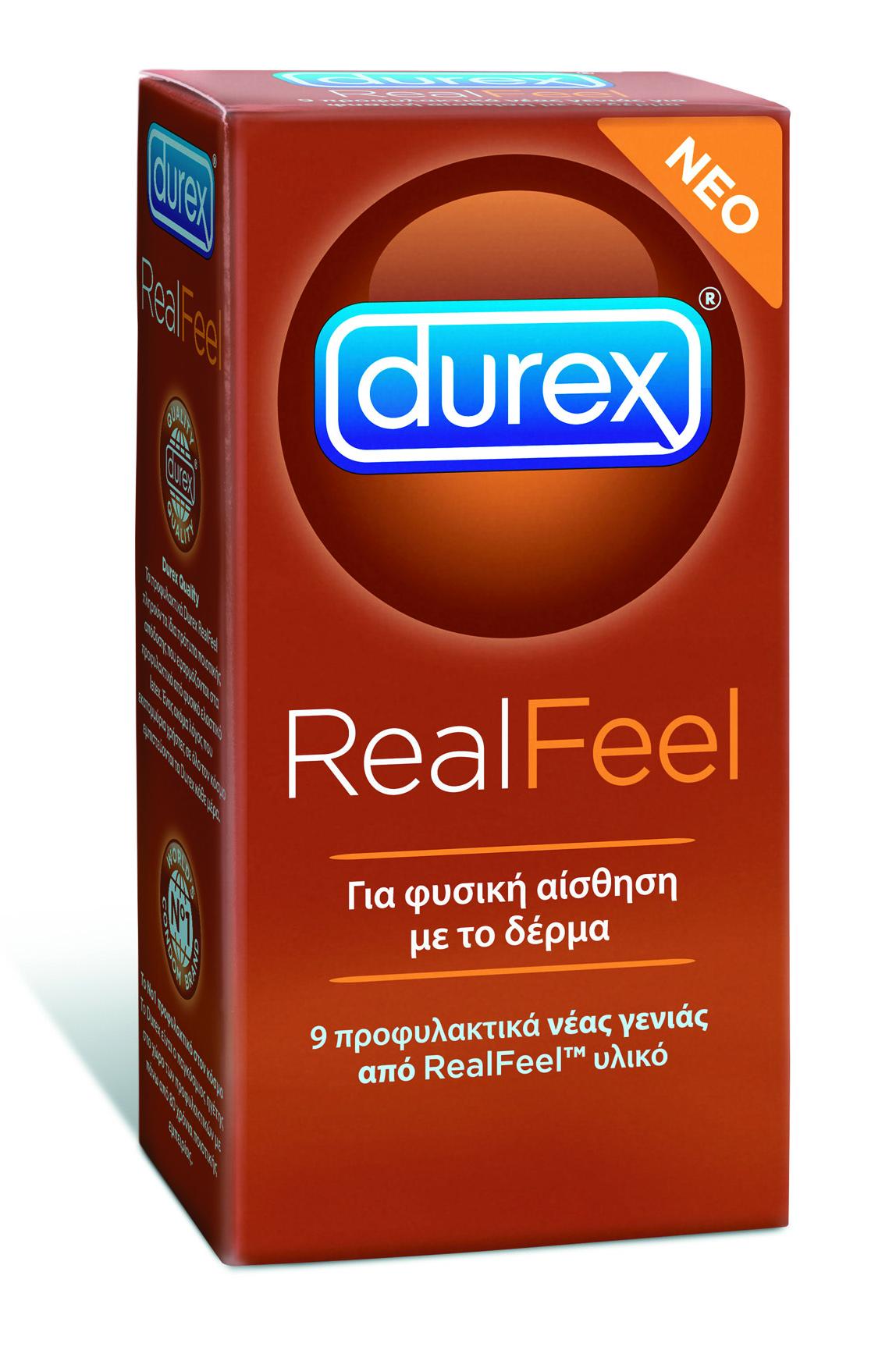 Durex Real Feel Προσφέρει Φυσική Αίσθηση 6τεμ