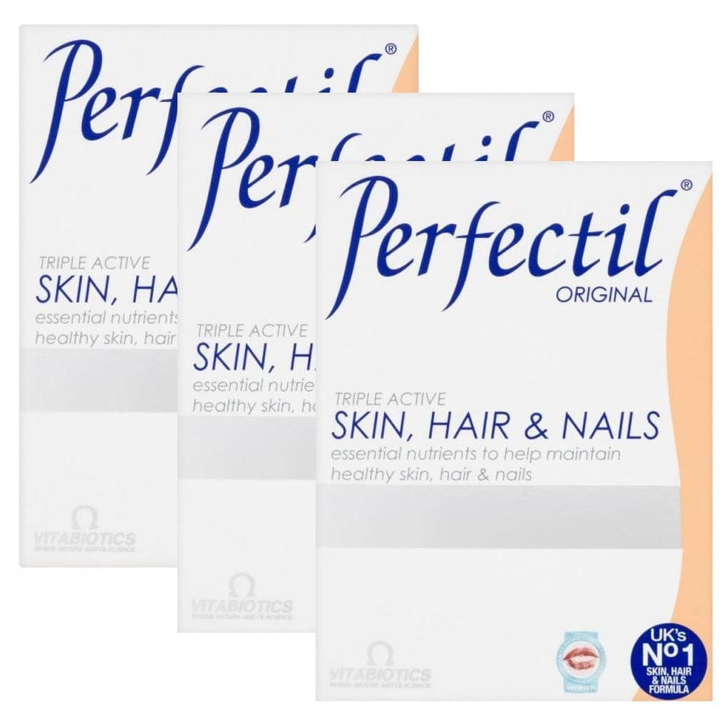 Vitabiotics Πακέτο ΠροσφοράςPerfectil Original Υγεία του Δέρματος των Μαλλιών &των Νυχιών 30 tabs2+1 Δώρο
