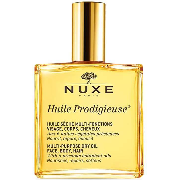 Nuxe Huile Prodigieux Ξηρό Λάδι για Πρόσωπο-Σώμα-Μαλλιά 100ml