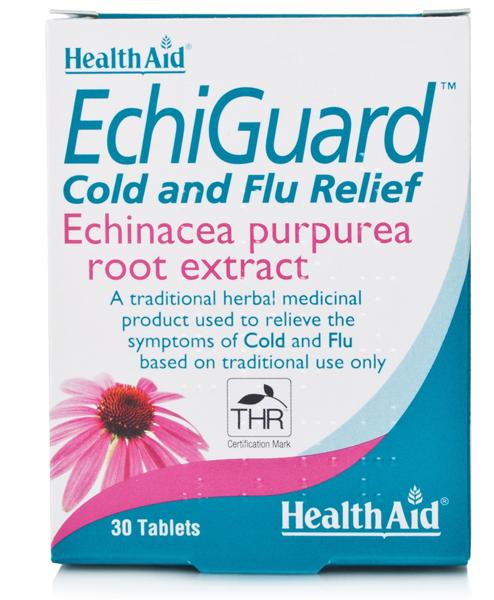 Health Aid EchiGuard Εχινάκια Για Tο Ανοσοποιητικό 30tabs