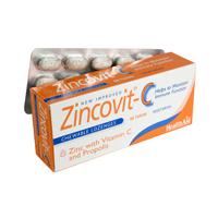 Health Aid Zincovit-C Ενίσχυση Του Ανοσοποιητικού 60tabs
