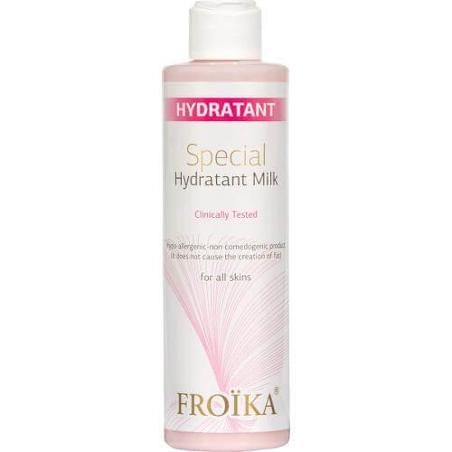 Froika Special Hydratant Milk, Ενυδατικό Γαλάκτωμα Καθαρισμού & Ντεμακιγιάζ για Όλους τους Τύπους Δέρματος 200ml