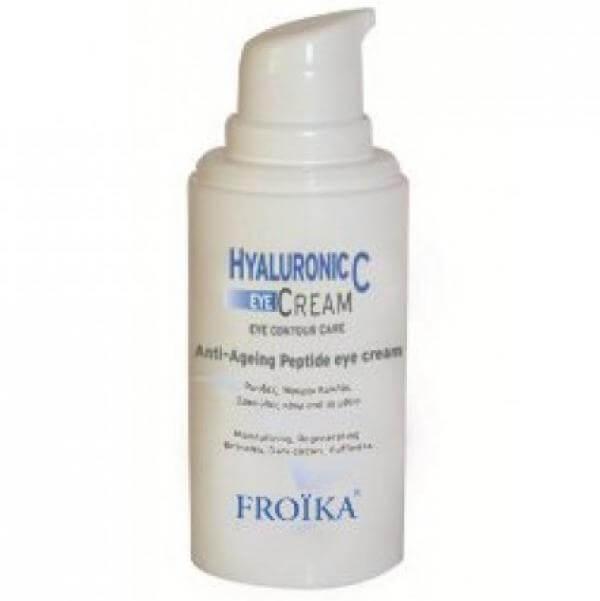 Froika Hyaluronic-C Eyes Αντιγηραντική Κρέμα για τα Mάτια, Mειώνει τις Ρυτίδες & τις Γραμμές Έκφρασης 15ml