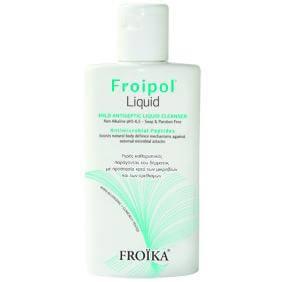 Froika Froipol Liquid Ήπιο Αντισηπτικό Υγρό Καθαρισμού Σώματος & Ευαίσθητης Περιοχής 200ml