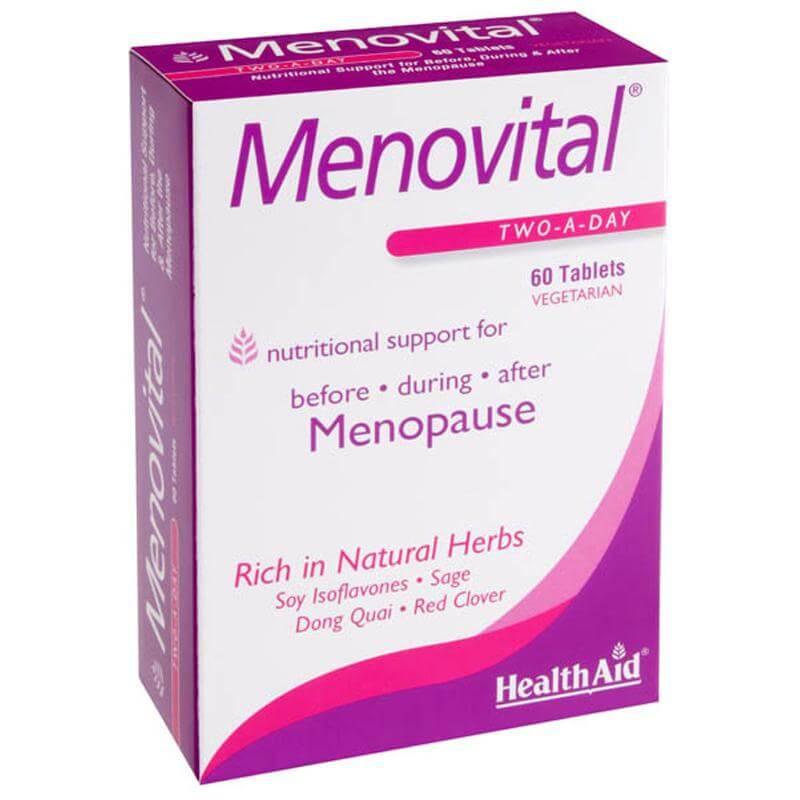 HealthAid Menovital Φροντίδα Για Την Εμμηνόπαυση 60tabs