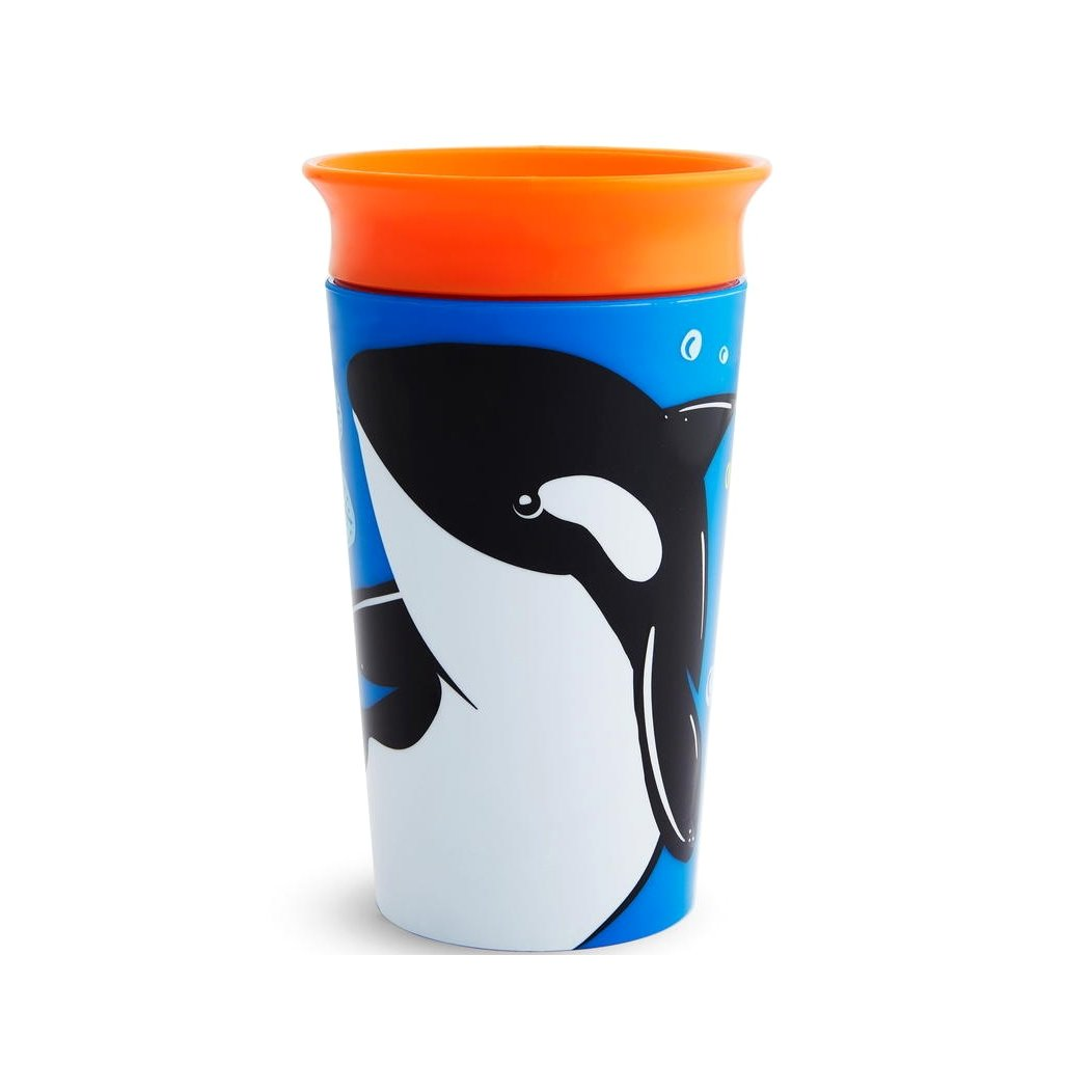 Munchkin Miracle 360 Sippy Cup, Orca Kids' Cup, 266 ml