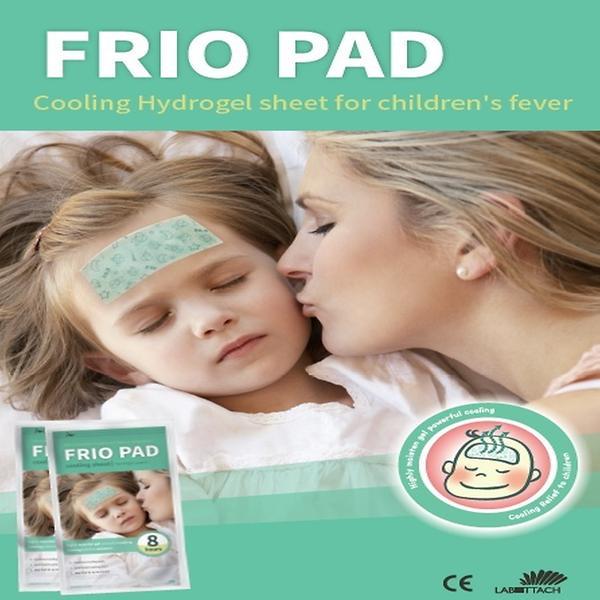 Vyte Frio Pad Cooling Sheet Δροσιστική Αντιπυρετική Κομπρέσα 2τμχ