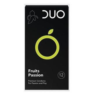 Duo Flavoured Fruits Passion Πλροφυλακτικά Με Γεύσεις 6τεμ