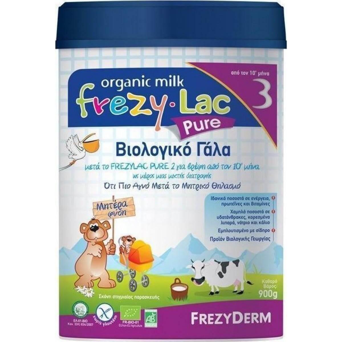 Frezyderm Frezylac Pure 3Εμπλουτισμένο με ΑΑ & DHA 400gr