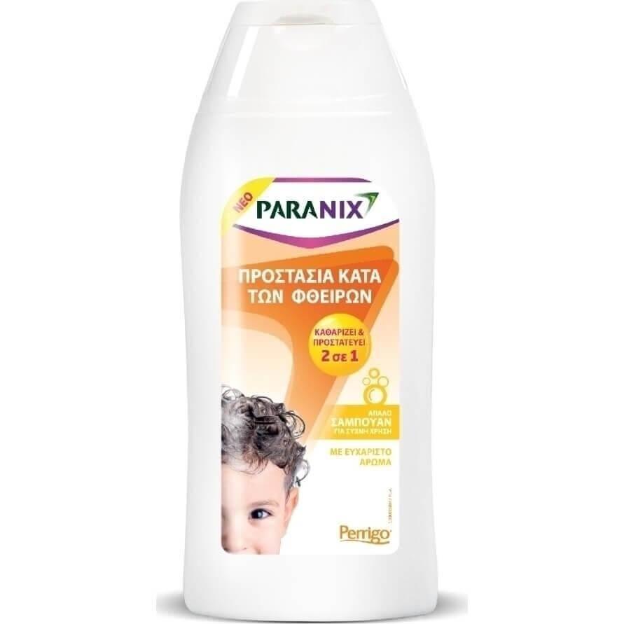 Paranix Protection Shampoo 2 σε 1 Απαλό Σαμπουάν για Προστασία Κατά των Φθειρών 200ml