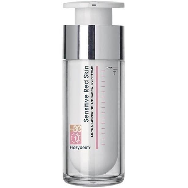 Frezyderm Sensitive Red Skin Tinted Cream Κρέμα με Χρώμα για Ευαίσθητες ΕπιδερμίδεςSpf30 30ml