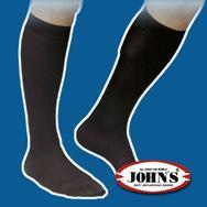 Johns Kάτω Γόνατος Aνδρική (17 – 20mmHg) 2144127 – ECRU νούμερο 1