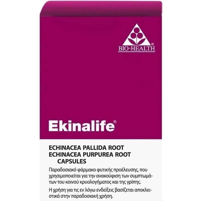 Power Health Ekinalife 400mg Echinacea Ενισχύει το Ανοσοποιητικό Σύστημα 30 tabs