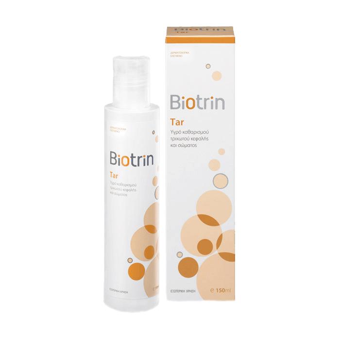Biotrin Tar Cleansing Liquid Για Το Πρόσωπο Και Το Σώμα 150ml