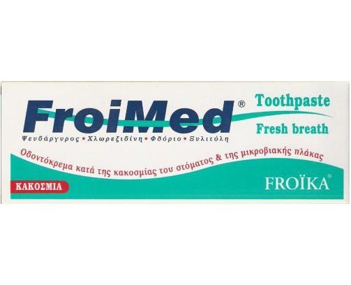 Froika Froimed Toothpaste Οδοντόκρεμα για την Κακοσμία 75ml