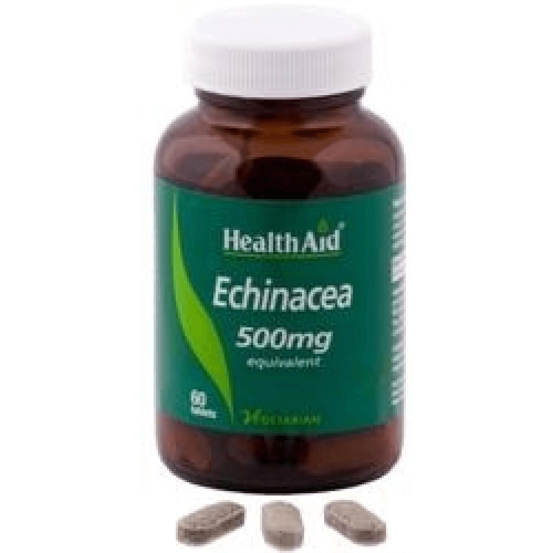 HealthAid Echinacea 500mg Ενίσχυση Του Ανοσοποιητικού Συστήματος 60tabs