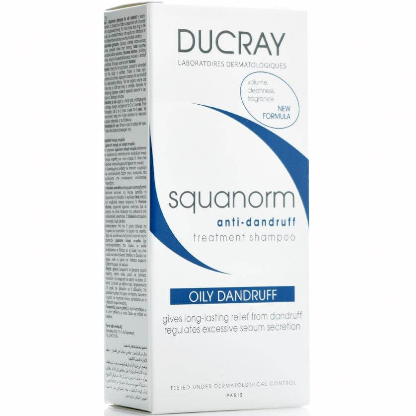 Ducray Squanorm Shampooing Σαμπουάν για την Λιπαρή Πιτυρίδα 200ml
