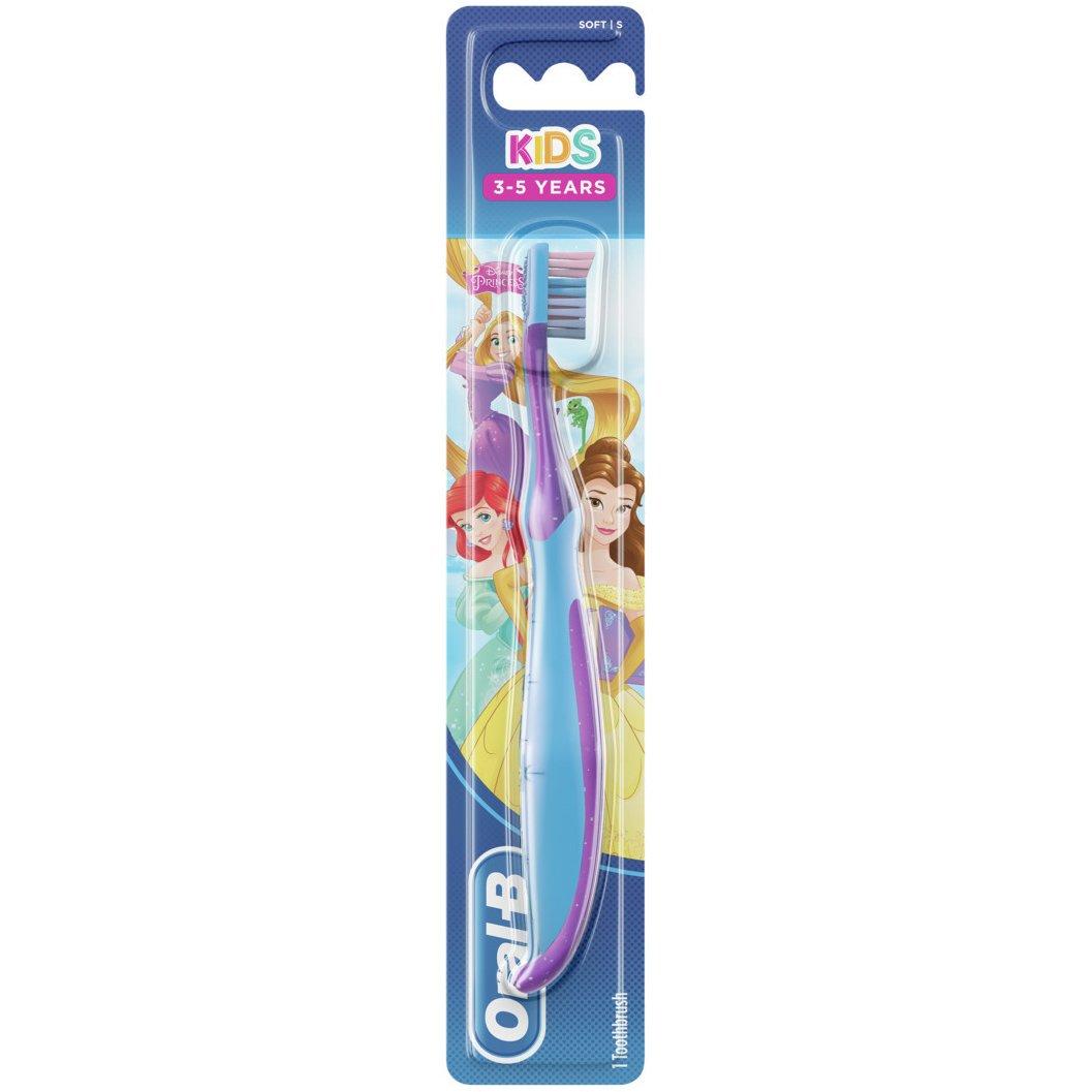 Oral-B Kids Princess Soft Παιδική Χειροκίνητη Μαλακή Οδοντόβουρτσα από 3-5 Ετών – ροζ