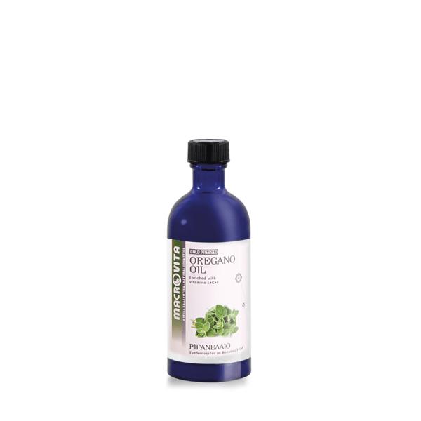 Oregano Oil 100ml – Macrovita,Έλαιο Ρίγανης με Αντιμικροβιακή & Αντιμυκητιασική Δράση