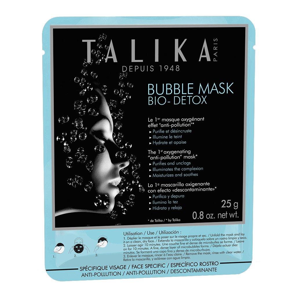 Talika Bubble Mask Bio-Detox Μάσκα Προσώπου Οξυγόνωσης Κατά των Περιβαλλοντικών Ρύπων 25gr