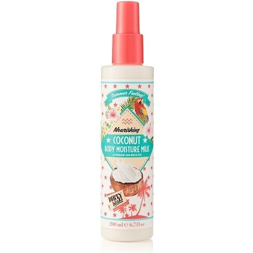 Dirty Works Summer Feeling Nourishing Coconut Body Moisture Milk Λεπτόρρευστο Γαλάκτωμα Σώματος 200ml