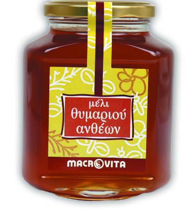 Macrovita Μέλι Θυμαριού Ανθέων 400 γραμ