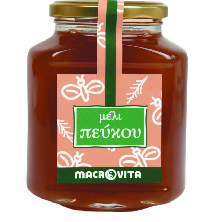 Macrovita Μέλι Πεύκου 400 γραμ