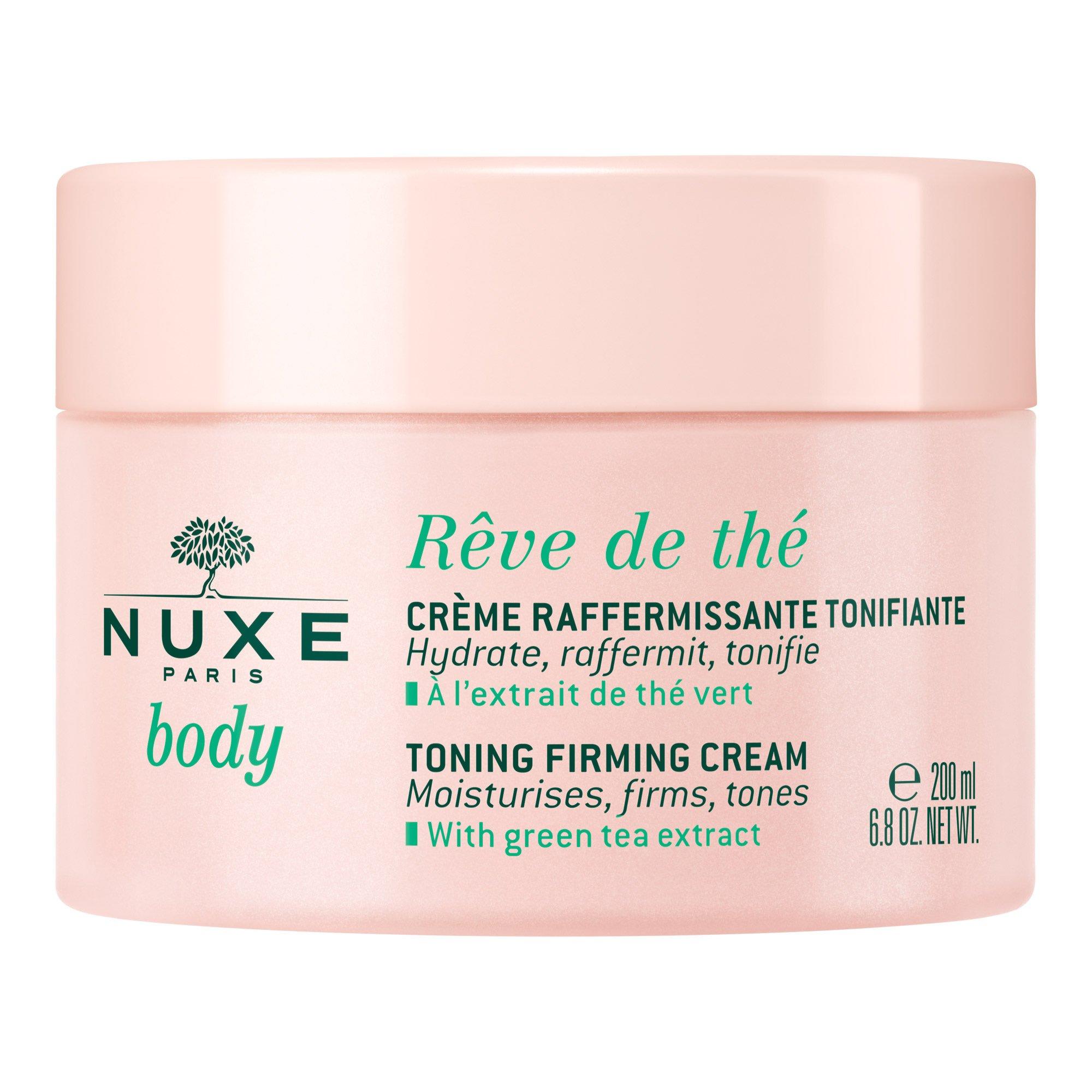 Nuxe Body Reve de The Moisturising Toning Firming Cream Ενυδατική Κρέμα Σύσφιξης Σώματος με Πράσινο Τσάι 200ml