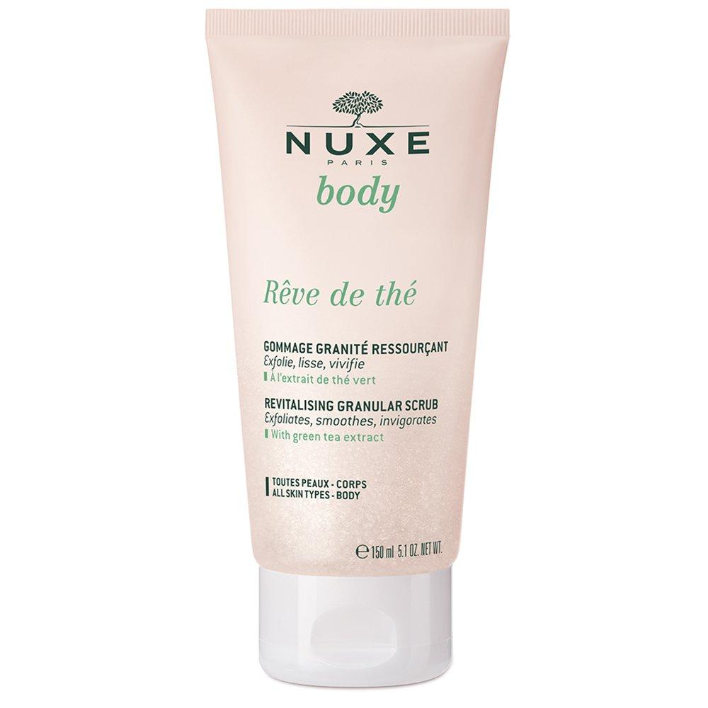 Nuxe Body Reve de The Revitalising Granular Scrub Απαλό Αναζωογονητικό Scrub Σώματος με Άρωμα Πράσινου Τσαγιού 150ml