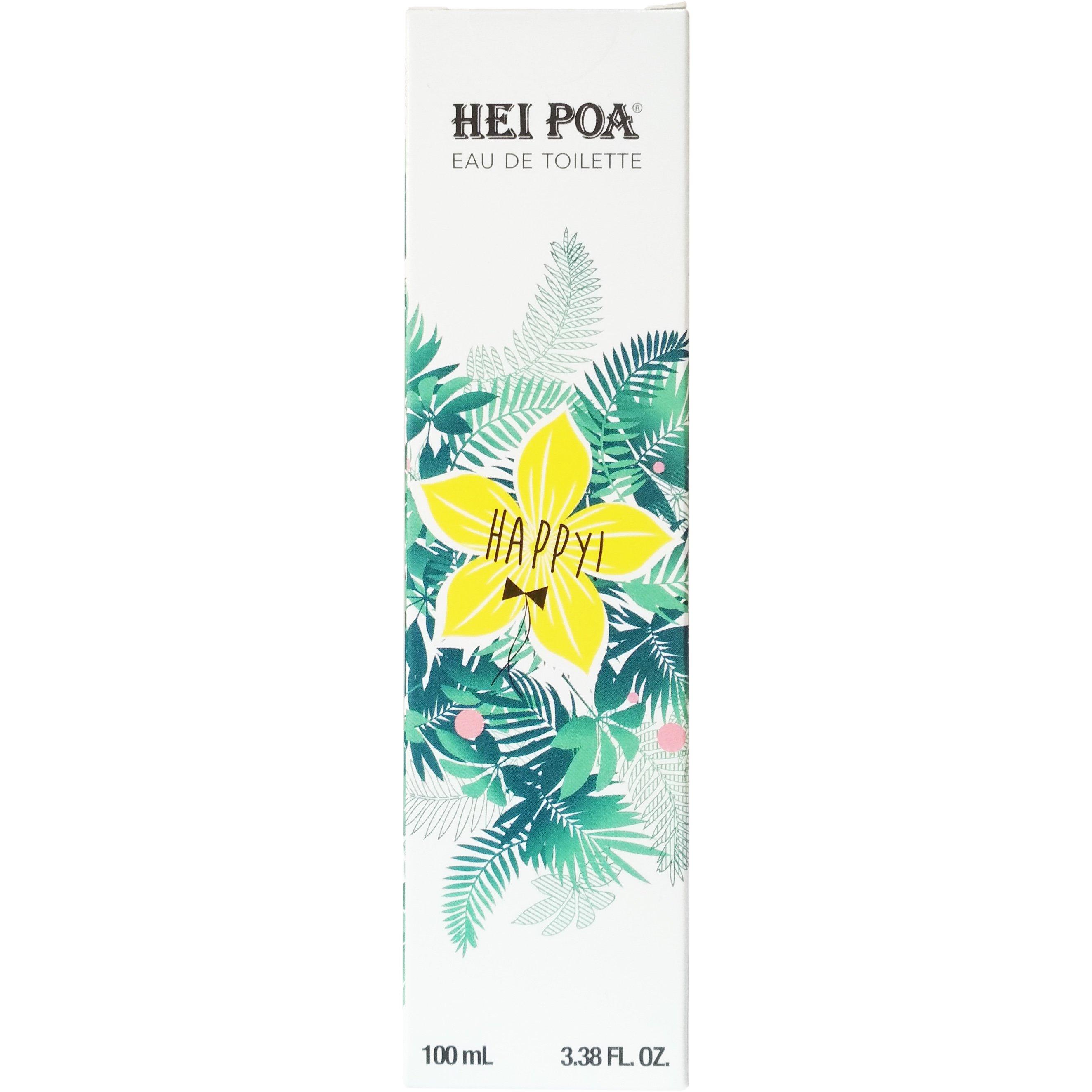 Hei Poa Eau de Toilette Happy Άρωμα με Γλυκές Νότες από Εσπεριδοειδή, Άνθος Tiar ομορφιά   αρώματα   αρώματα για τη γυναίκα