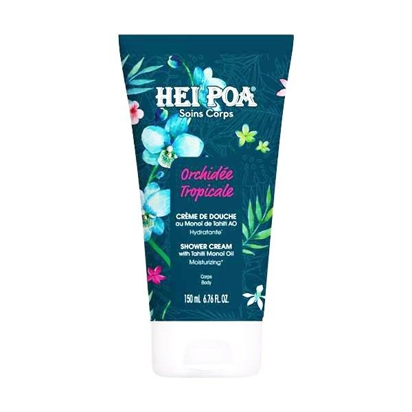 Hei Poa Tropical Orchid Tahiti Monoi Shower Cream Βελούδινο Κρεμοντούς 150ml