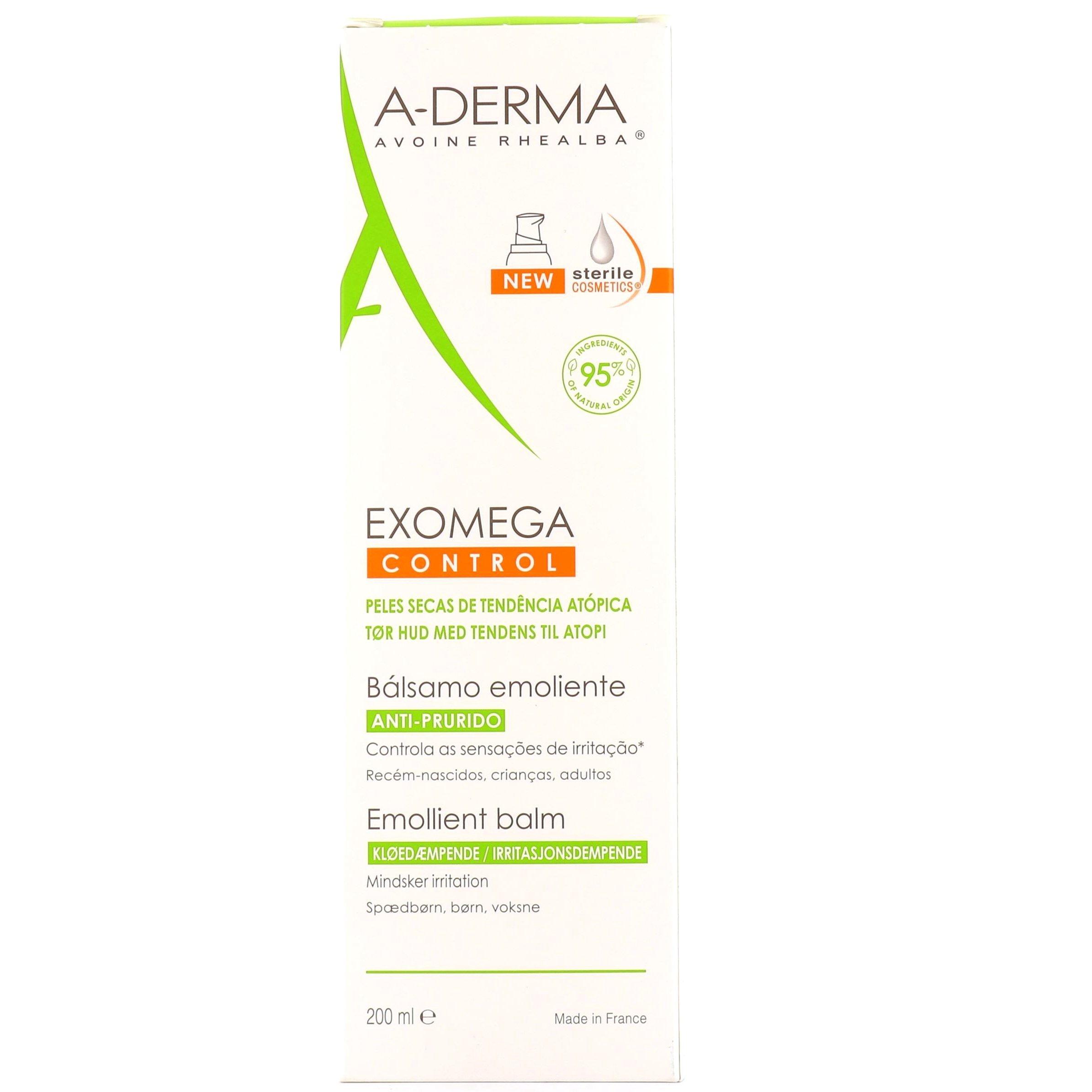 A-Derma Exomega Baume (D.E.F.I) Κρέμα για Ατοπικό & Πολύ Ξηρό Δέρμα 200ml