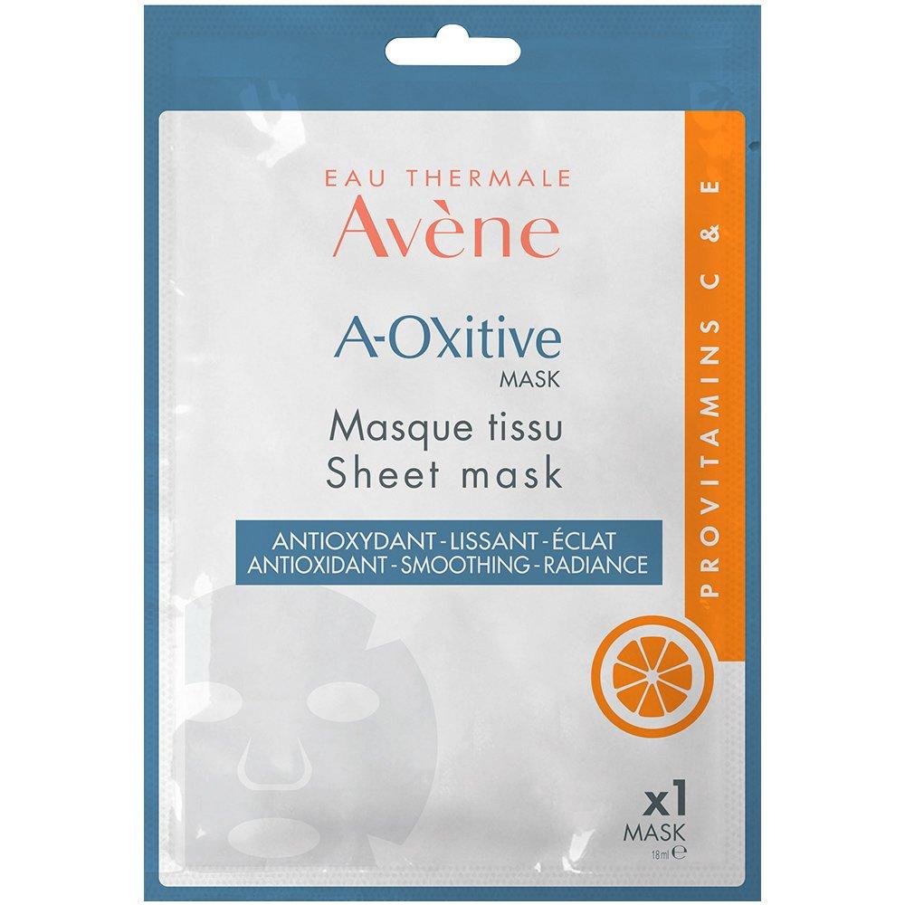 Avene A-Oxitive Mask Υφασμάτινη Μάσκα με Αντιοξειδωτική Δράση για Λείανση & Λάμψη 1 Τεμάχιο
