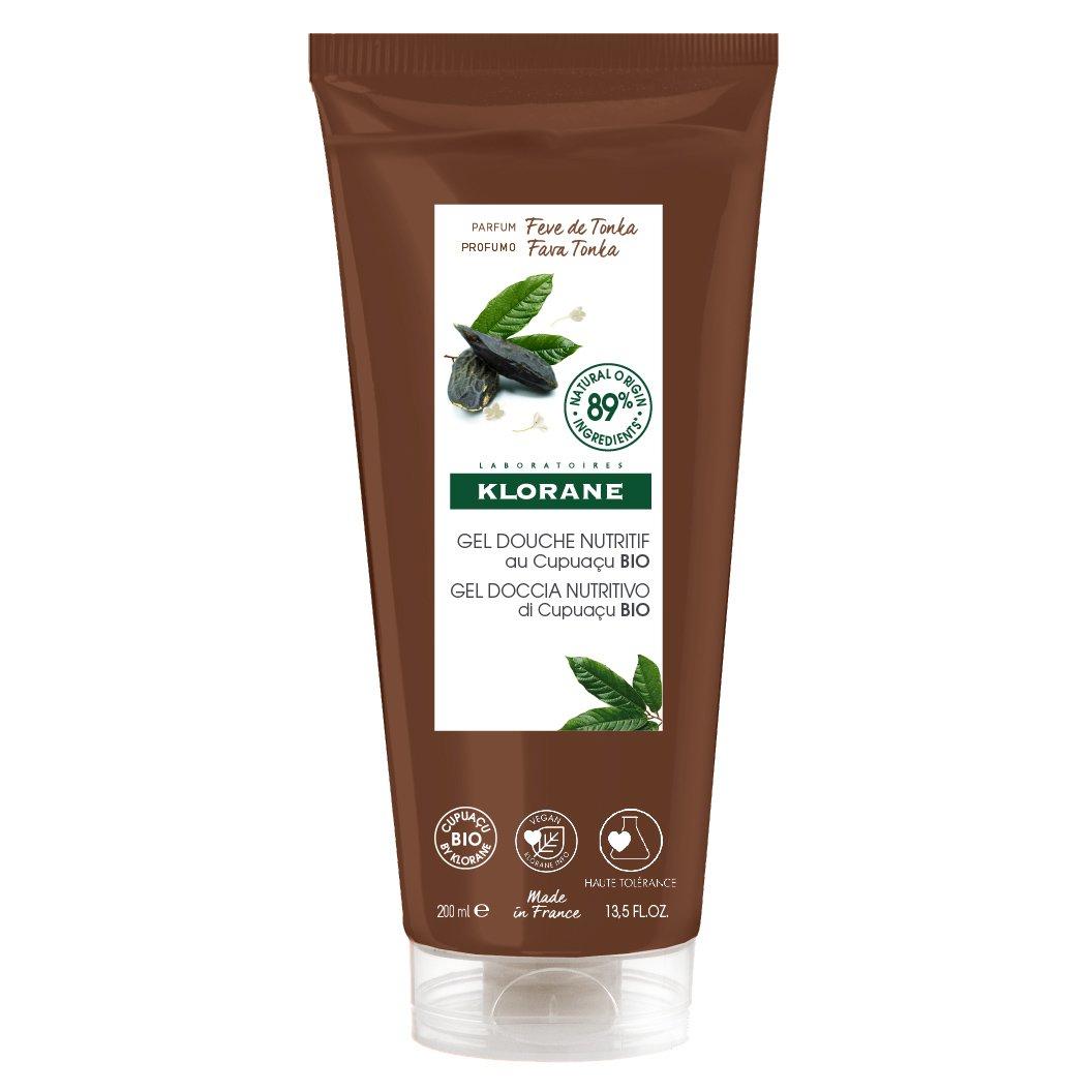 Klorane Nourishing Shower Gel with Organic Cupuacu Butter & Tonka Bean Θρεπτικό Αφρόλουτρο με Εκχύλισμα Από Καρπό Τόνκα 200ml