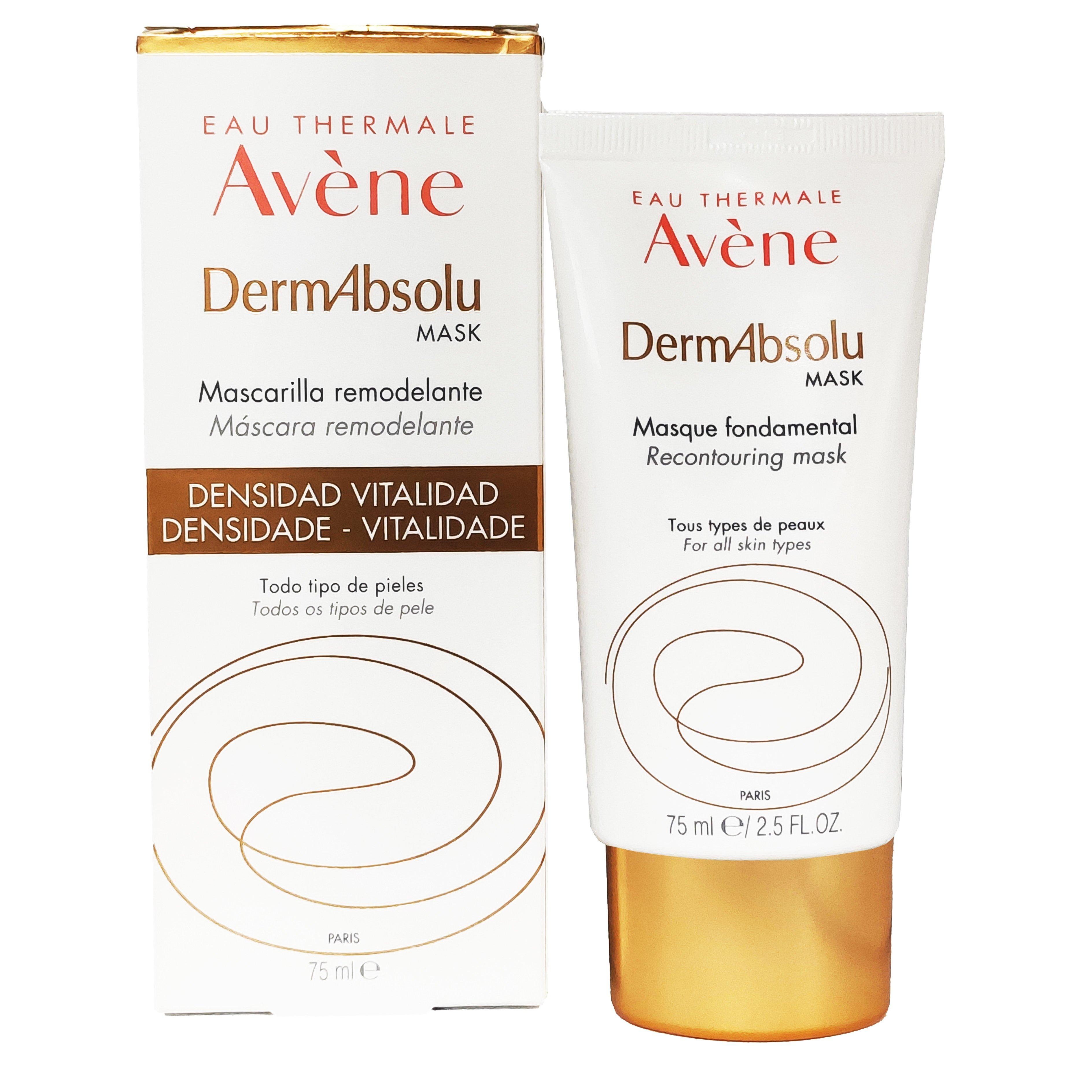 Avene DermAbsolu Fondamental Mask Ενυδατική & Αντιγηραντική Βασική Μάσκα Προσώπου για Επαναφορά της Πυκνότητας 75ml
