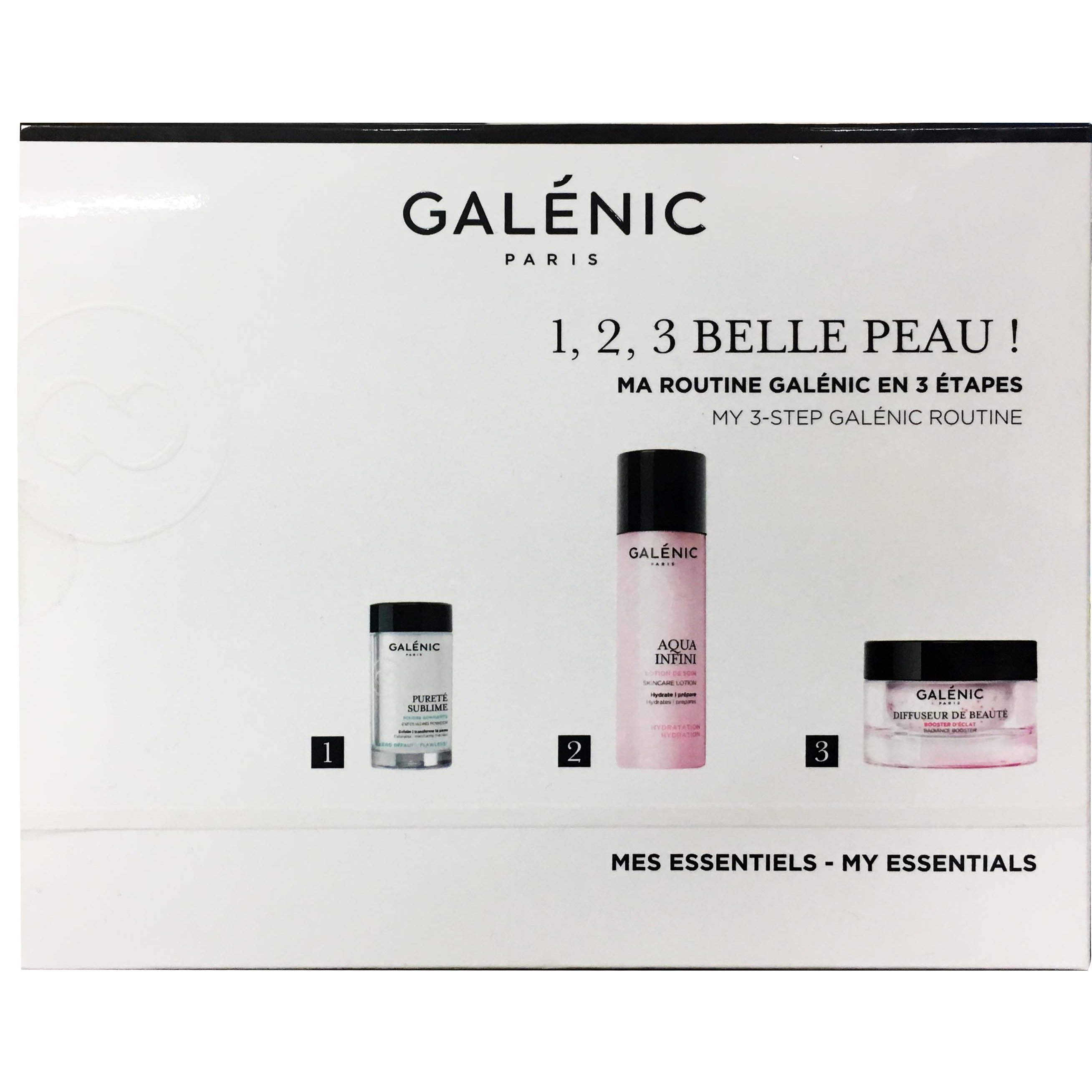 Galenic Promo Poudre Gommante Απολεπιστική Πούδρα 3gr,Aqua Infini Lotion Λοσιόν Προετοιμασίας 40ml & Diffuseur de Beaute 15ml