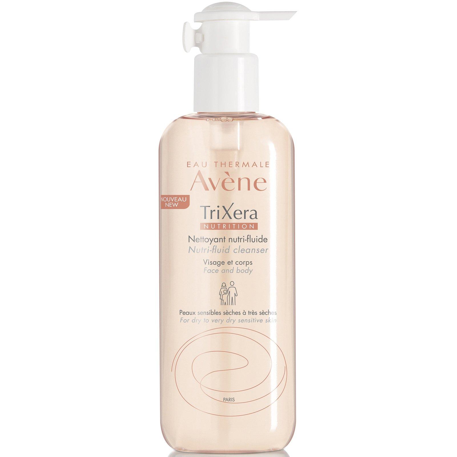 Avene Trixera Nutrition Gel Nettoyant Nutri-Fluide Λεπτόρρευστο Θρεπτικό Καθαριστικό Πρόσωπο-Σώμα για Ευαίσθητο Ξηρό Δέρμα 500ml