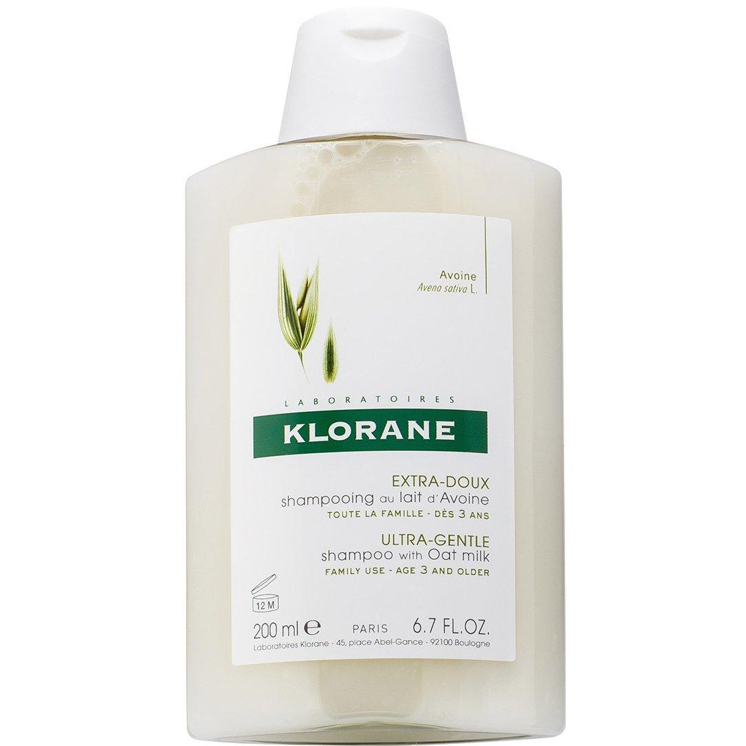 Klorane Extra-Doux Shampooing au Lait dAvoine Σαμπουάν με Βρώμη για Έξτρα Απαλότητα & Προστασία 200ml Promo -25%