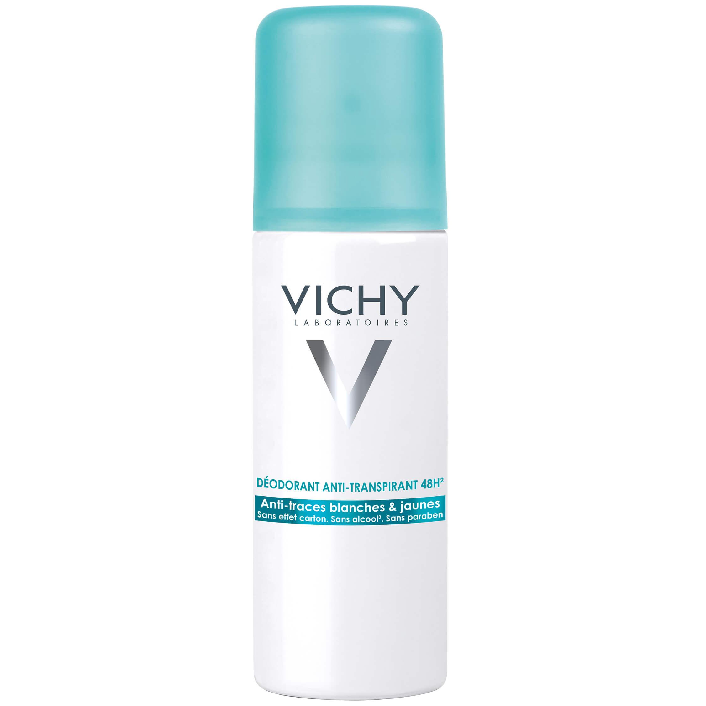 Vichy Deodorant 48h Αποσμητική Φροντίδα Κατά της Έντονης Εφίδρωσης, Χαρίζει Αίσθηση Φρεσκάδας 125ml
