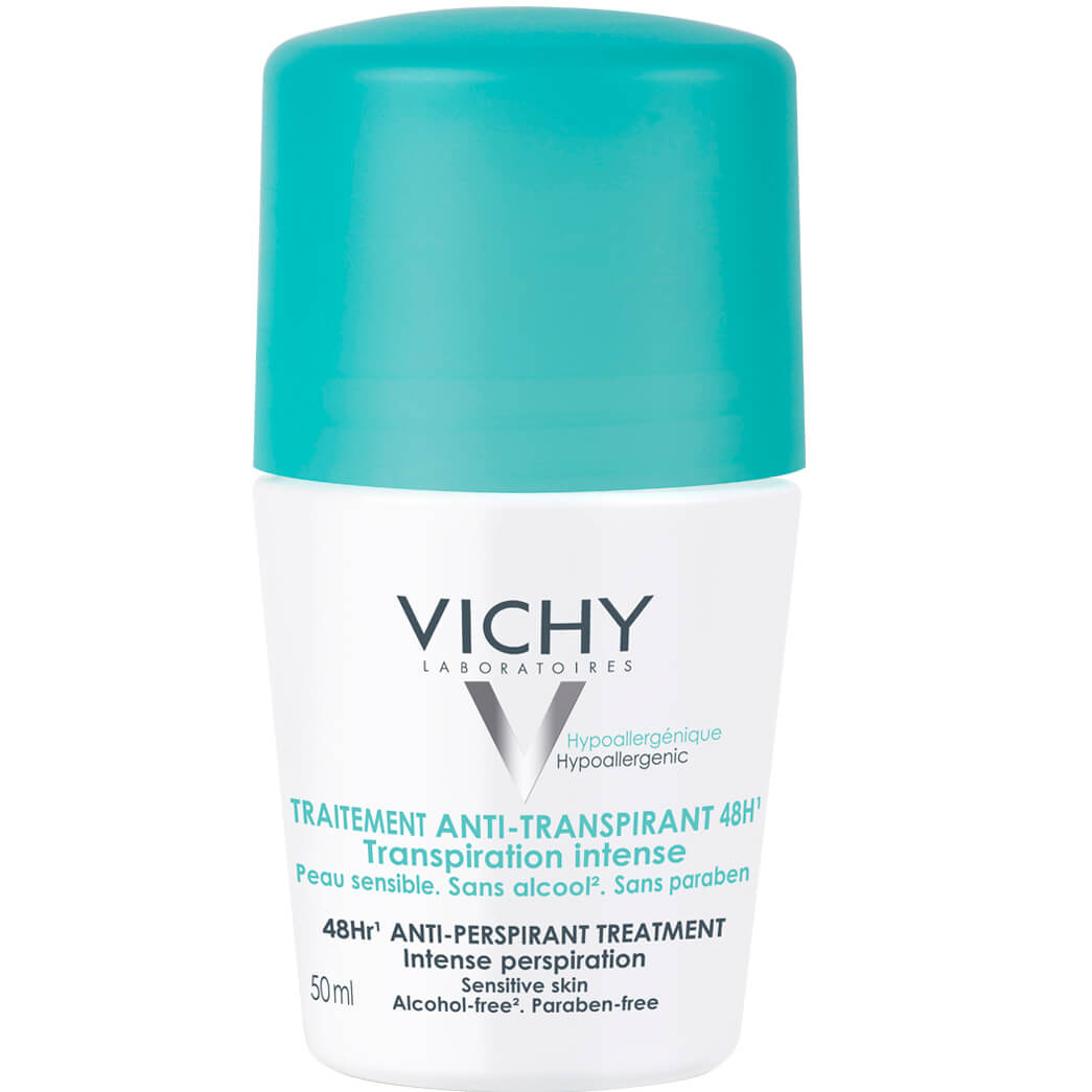 Vichy Deodorant Bille Antitranspirant 48h Κατά της Έντονης Εφίδρωσης 50ml