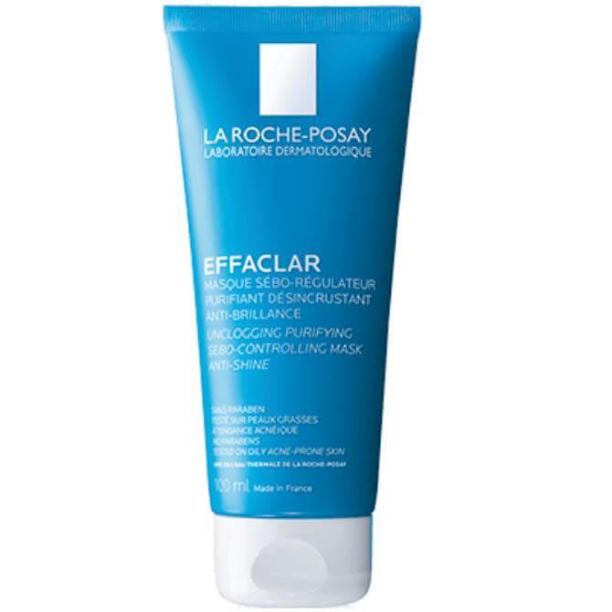 La Roche-Posay Effaclar Mask Μάσκα Καθαρισμού των Πόρων & Ρύθμισης του Σμήγματος 100ml