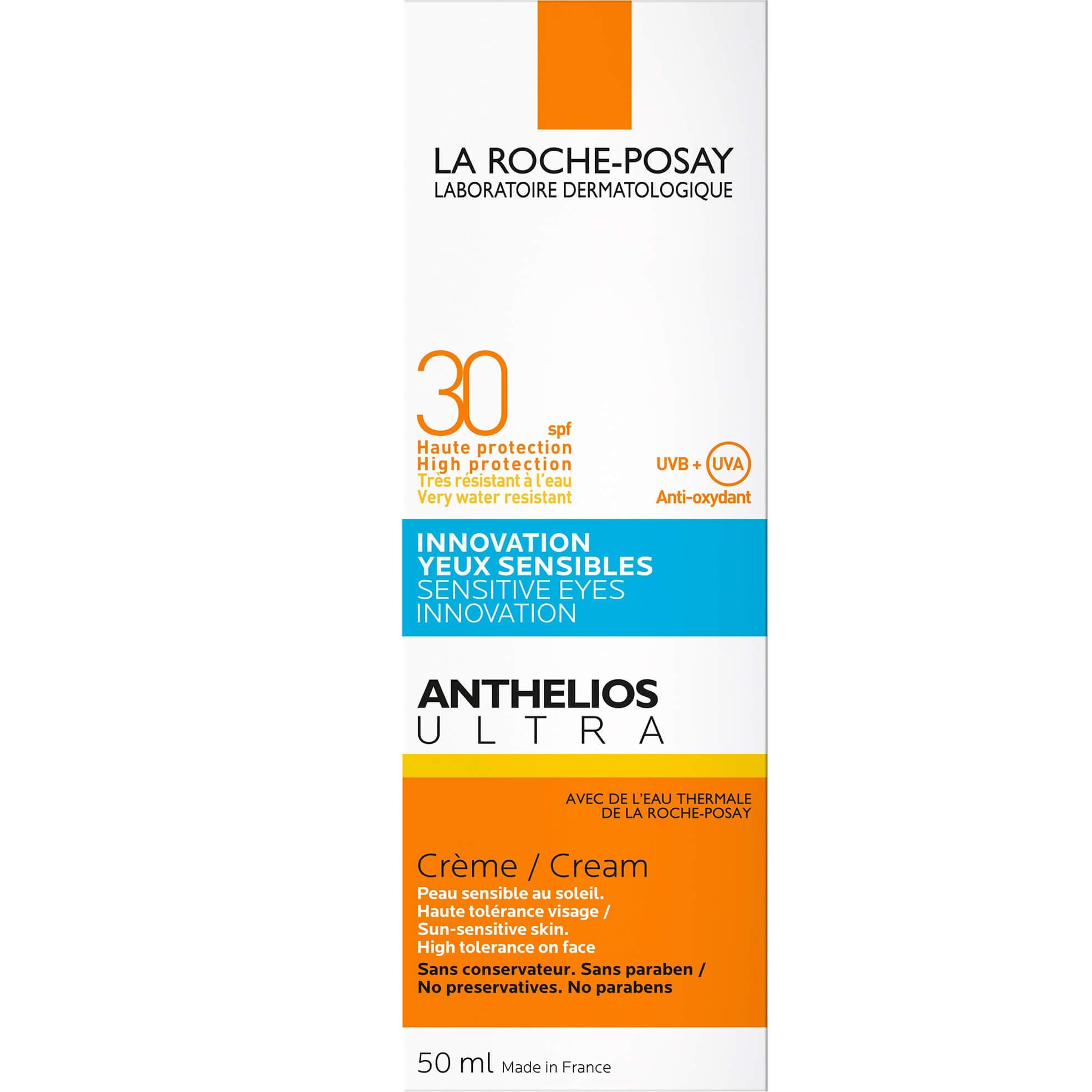 La Roche-Posay Anthelios Ultra Sensitive Eyes InnovationCream Spf30+ Αντηλιακό Προσώπου Ενάντιαστο Τσούξιμοτων Ματιών50ml