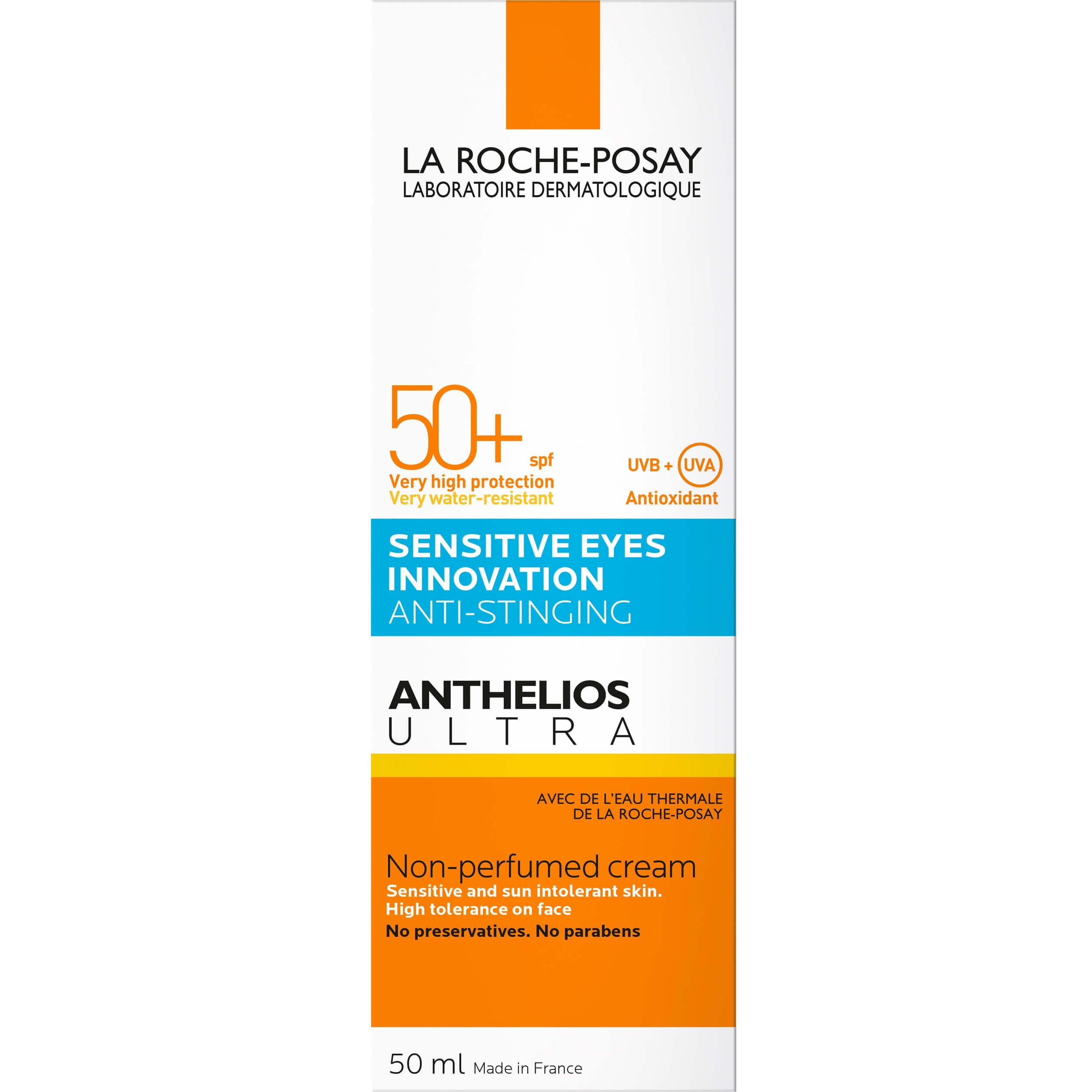 La Roche-Posay Anthelios Ultra Sensitive Eyes InnovationCream Spf50+ Αντηλιακό Προσώπου Χωρίς Άρωμα50ml