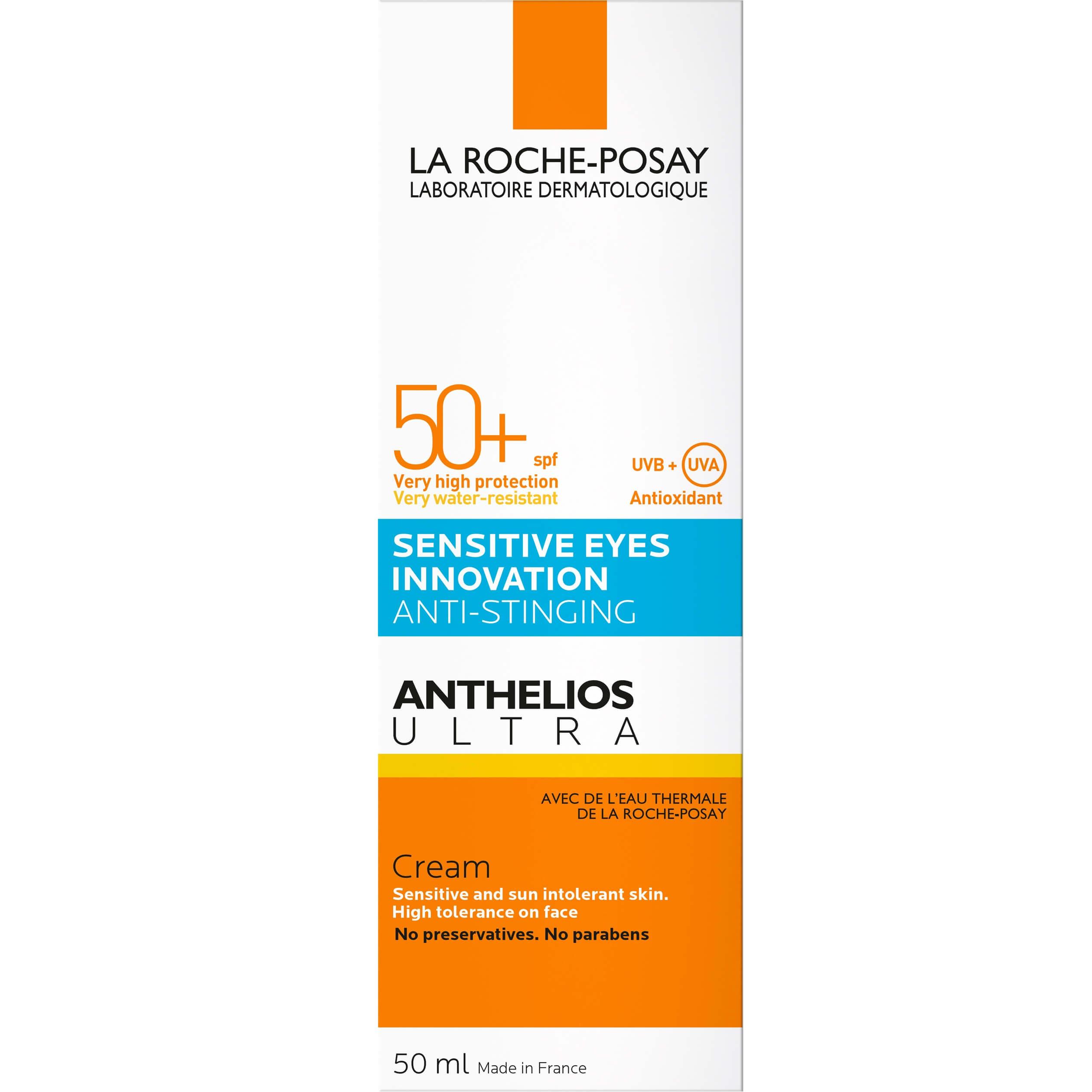 La Roche-Posay Anthelios Ultra Sensitive Eyes InnovationCream Spf50+ Αντηλιακό ΠροσώπουΕνάντιαστο Τσούξιμοτων Ματιών50ml
