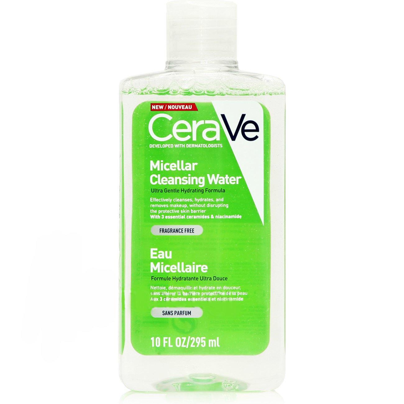 CeraVe Micellar Cleansing Water Νερό Καθαρισμού & Ντεμακιγιάζ Προσώπου, Ματιών & Χειλιών 295ml