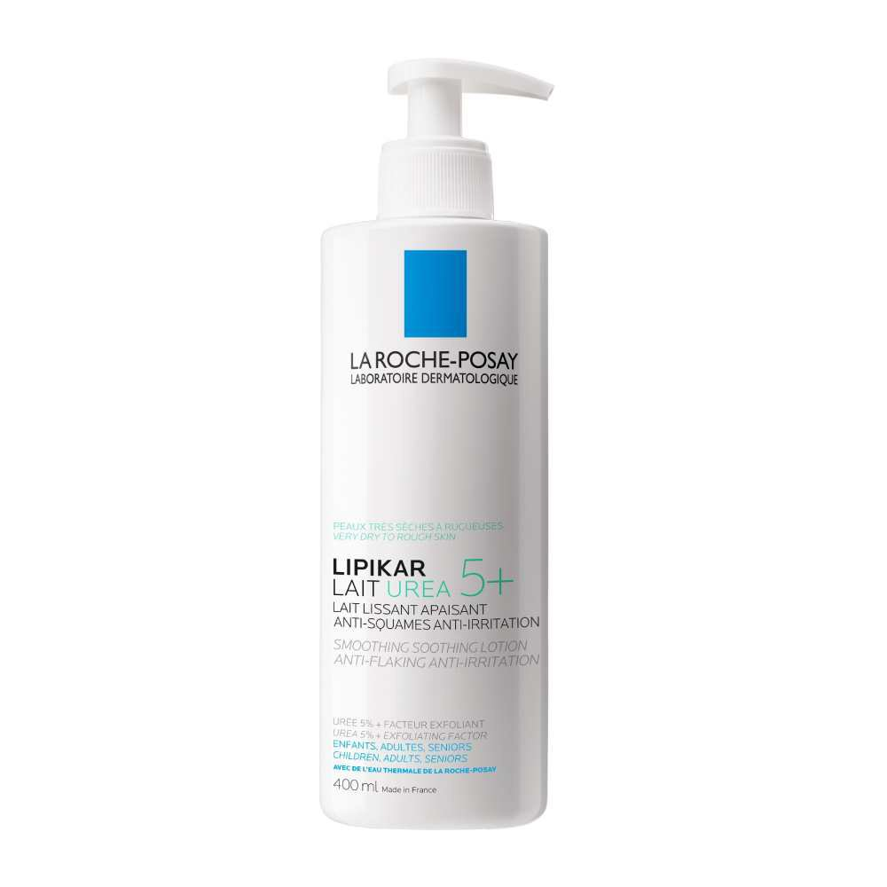 La Roche-Posay Lipikar Lait Urea 5+ Καταπραϋντικό Γαλάκτωμα Κατά της Τραχύτητας για Ξηρές Επιδερμίδες 400ml