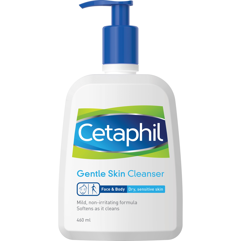 Cetaphil Gentle Skin Cleanser Απαλό Καθαριστικό Σώματος & Προσώπου 460ml