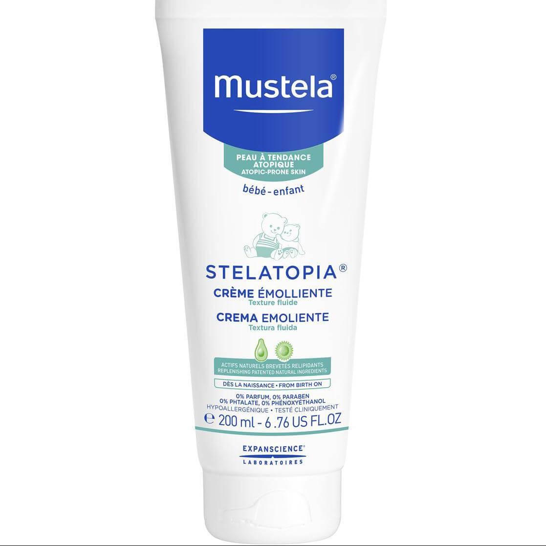 Mustela Stelatopia Creme EmollienteΜαλακτικήΚρέμαγια Βρεφική Ατοπική ΔερματίτιδαΠλούσιας Υφής 200ml